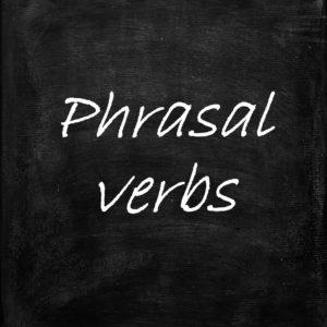Phrasal verbs angielski
