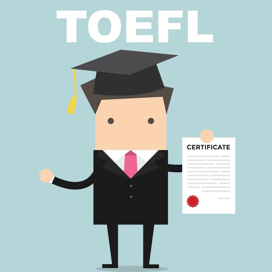 certyfikat TOEFL