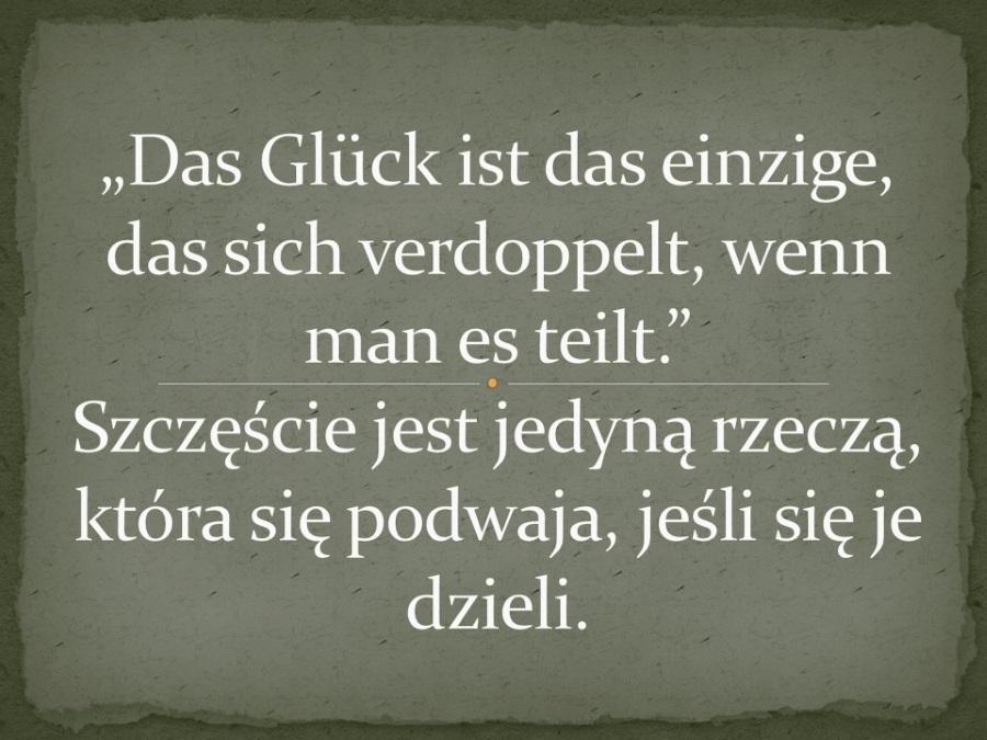 Cytaty Po Niemiecku Z Tłumaczeniem Speakinpl