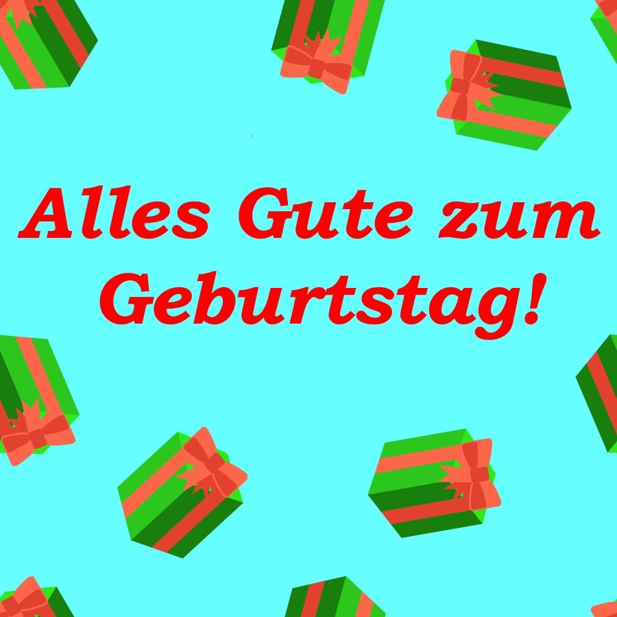 długie życzenia urodzinowe po niemiecku
