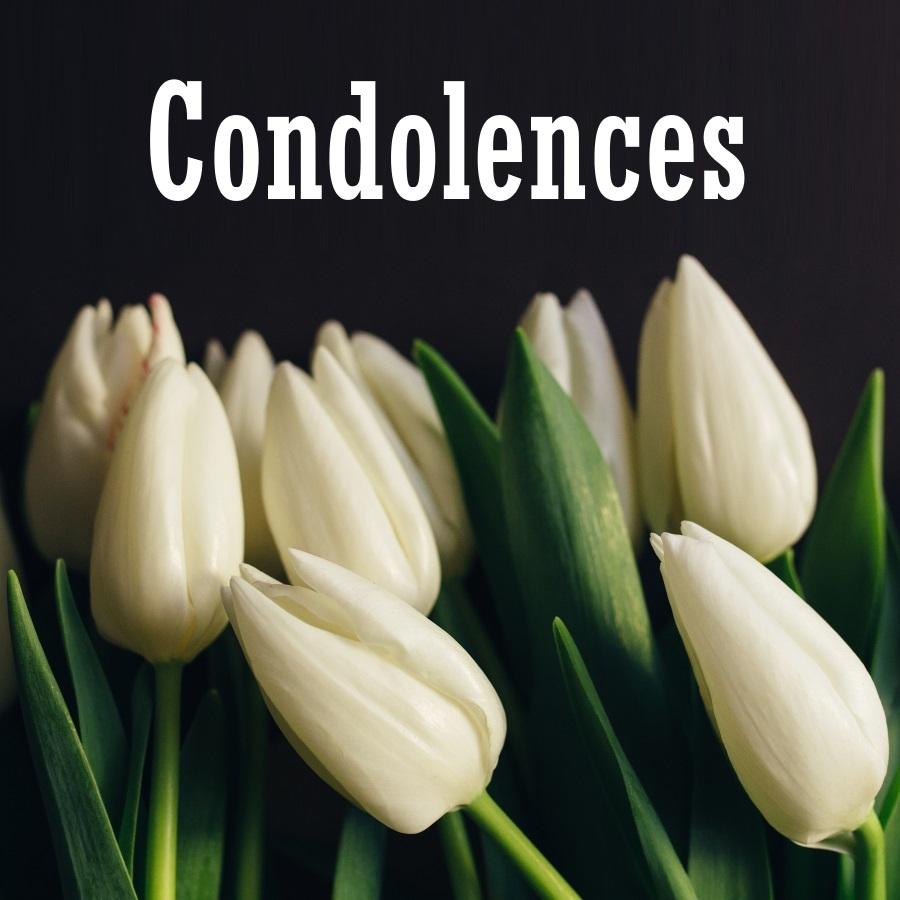kondolencje po angielsku
