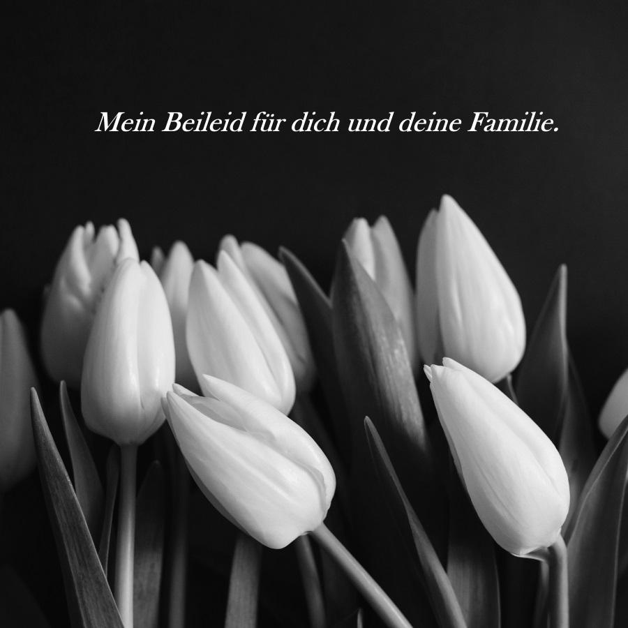 kondolencje po niemiecku