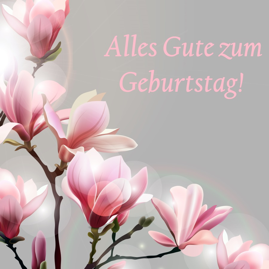 krótkie życzenia urodzinowe po niemiecku