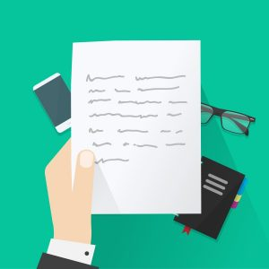 list formalny z prośbą o informacje po angielsku