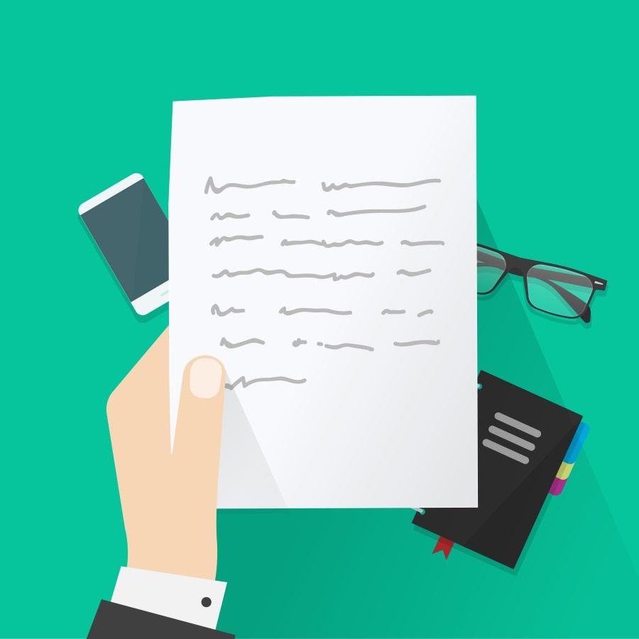 list formalny z prośbą o informacje po niemiecku