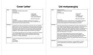 list motywacyjny po angielsku przykład pielęgniarka