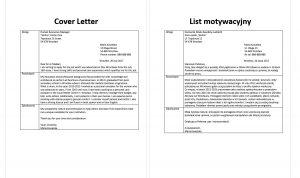 list motywacyjny po angielsku wzór opiekunka osób starszych