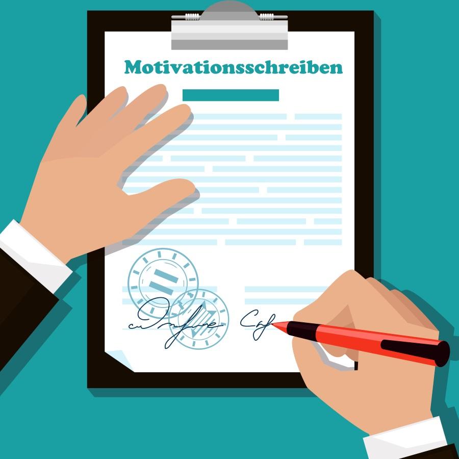 list motywacyjny po niemiecku