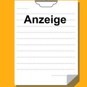 ogłoszenie po niemiecku
