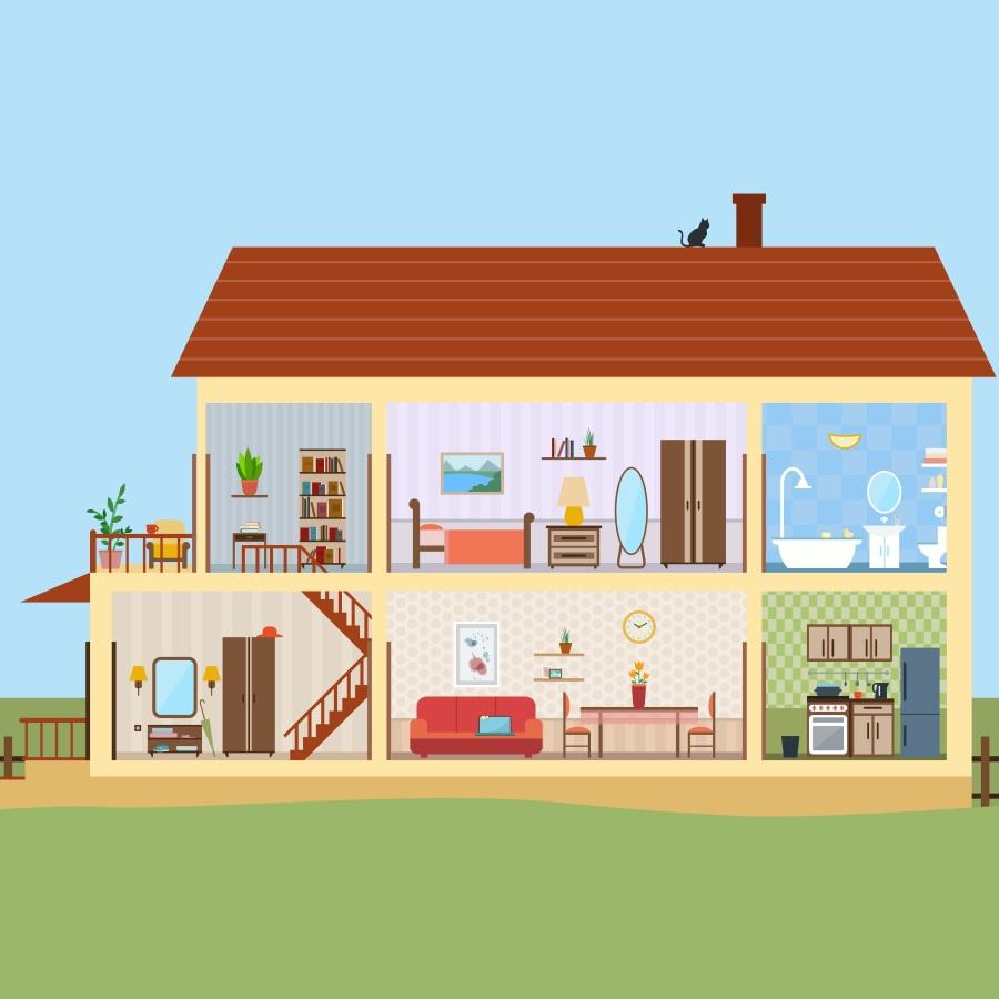 opis domu po niemiecku