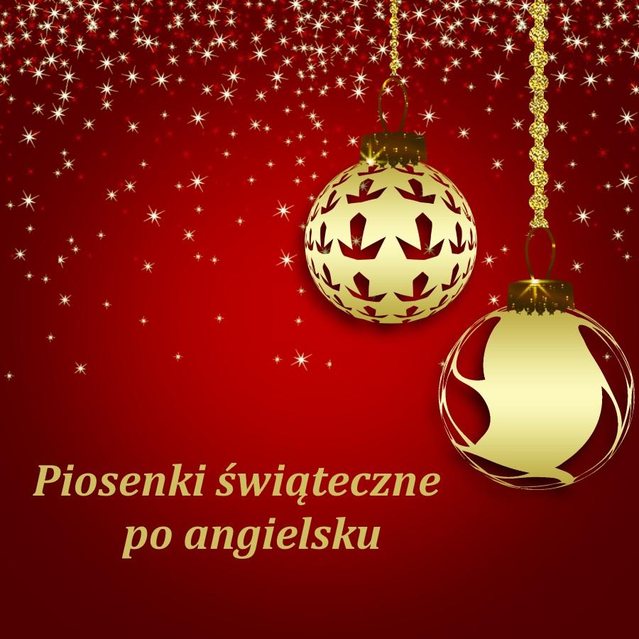 piosenki świąteczne po angielsku