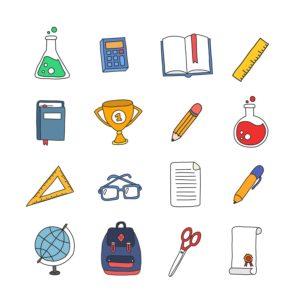 przedmioty szkolne po niemiecku