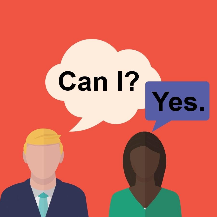 pytanie o zgodę po angielsku
